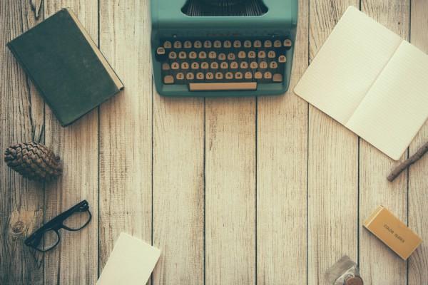 Typewritter desk